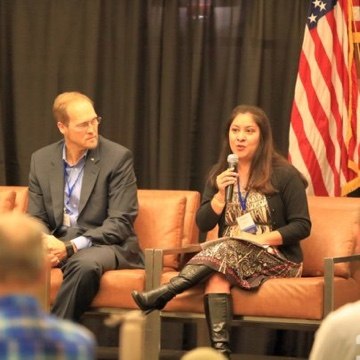 Monica attended Solar Business Festival in Austin, TX as a featured speaker on the Women In Solar panel and the Access in Solar Panel!